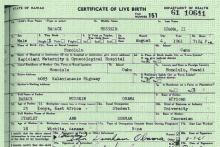 Barack Obama's Long Form Birth Certificate