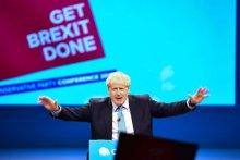 Get Brexit Done speech