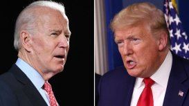 Biden and Trump
