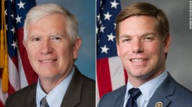 Rep Brooks and Rep Swalwell