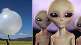 Weather Balloon or Aliens?