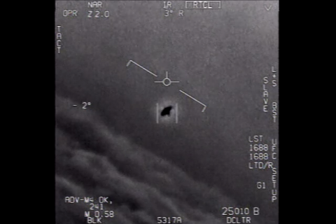 Navy released video of UFO