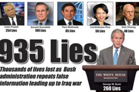 Bush Iraq Lies